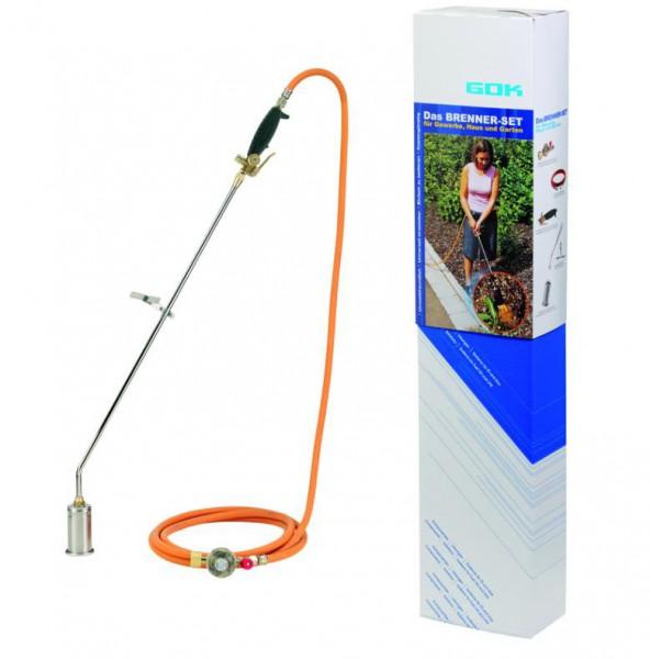 Hochleistungsbrenner-Set 50/600 KST 4bar/SBS-35°MD6,3x3,5-5m