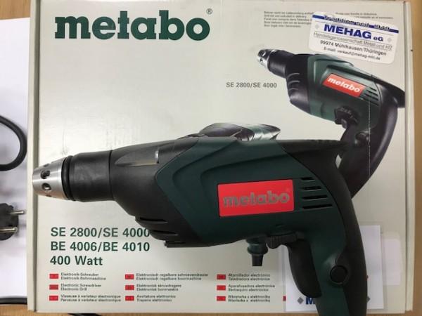 Metabo Elektronik-Schrauber SE 2800