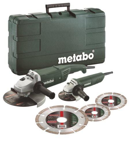 Metabo Winkelschleifer Combo-Set, W 820-125 + WX 2000-230