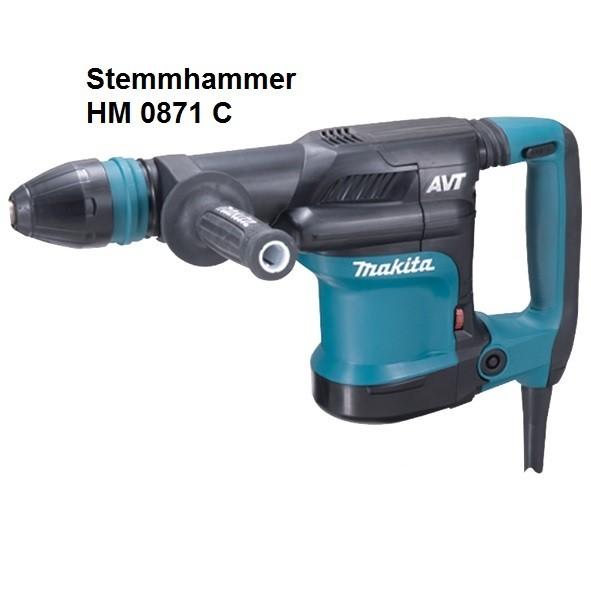 Makita Stemmhammer HM0871C, elektronisch, 1110 W
