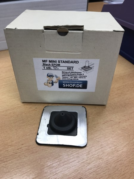 Dichtmanschette Master Flash Standard MINI schwarz, für Rohre 3,2 - 19,1mm