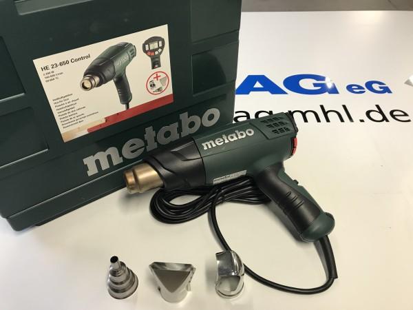 Heißluftgebläse H 23-650 Control Metabo