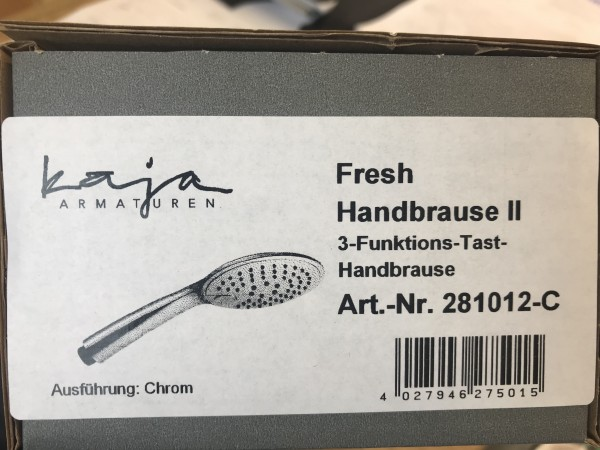 "Handbrause Kaja ""Fresh"" chrom"