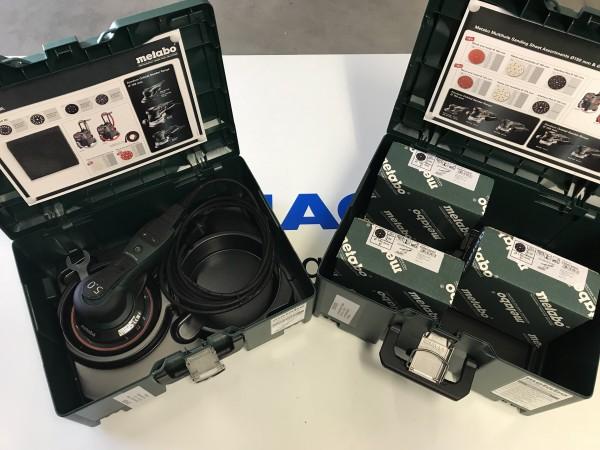 Exzenterschleifer SXE 150 - 5.0 BL Metabo