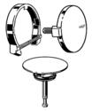Ausstattungsset MultiplexTrio-Set Kunststoff verchromt