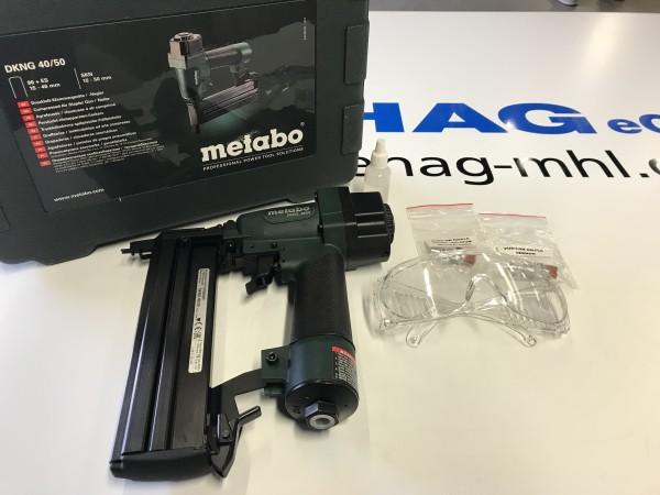 Klammer-Nagelgerät DKNG 40/50 Metabo